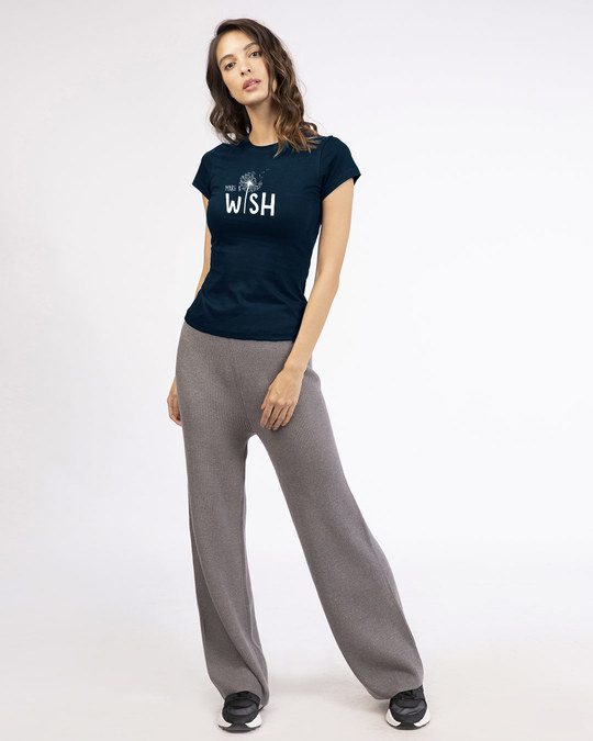 Shop Make A Wish Half Sleeve T-shirt-Design