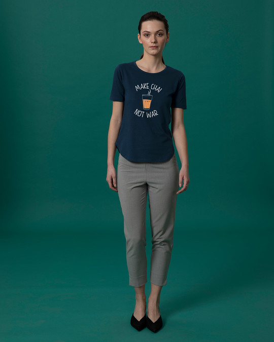 Shop Make Chai Basic Round Hem T-Shirt