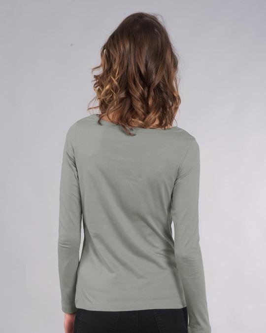 Shop Make Life Colorful Scoop Neck Full Sleeve T-Shirt-Back