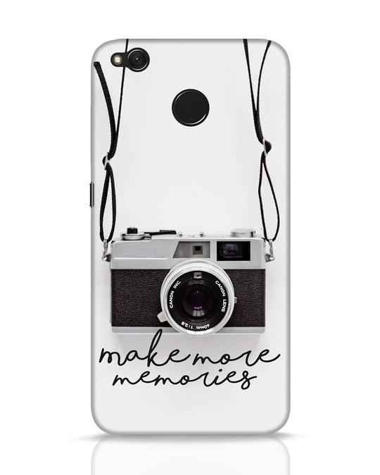 Shop Make More Memories Xiaomi Redmi 4 Mobile Cover-Front