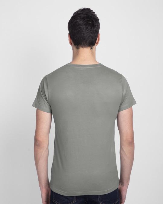 Shop Make Music Not War Half Sleeve T-shirt-Back