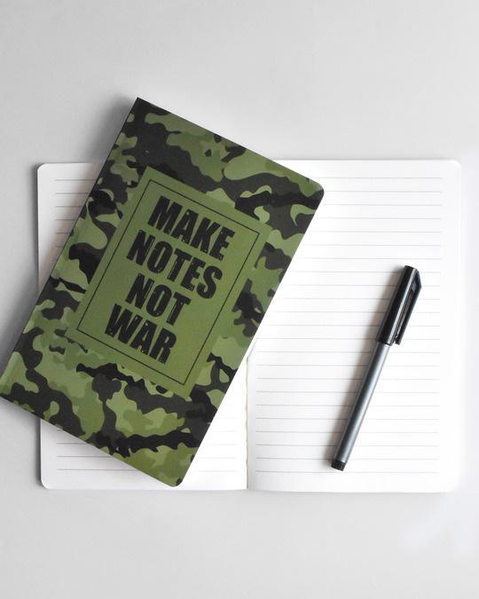 Shop Make Notes Notebook-Back