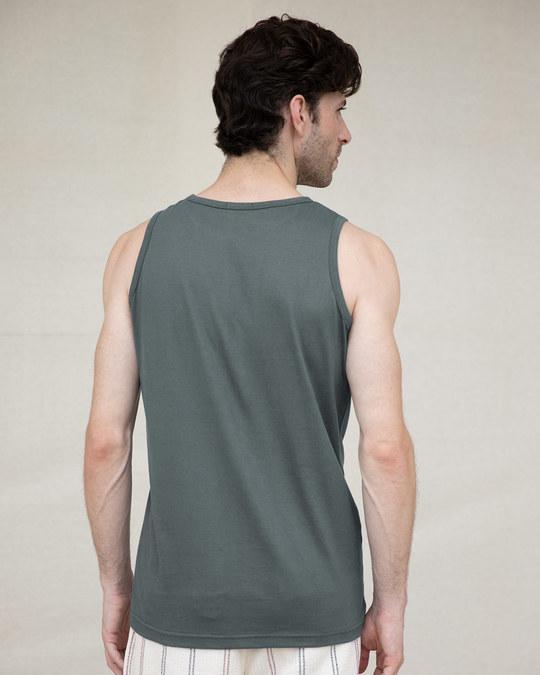 Shop Make Peace Tricolor Vest-Back