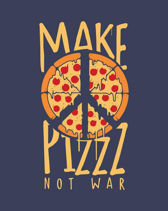 Shop Make Pizz Full Sleeve T-Shirt