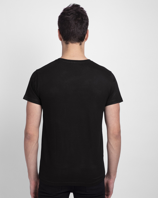 Shop Make Tracks Half Sleeve T-Shirt Black-Design