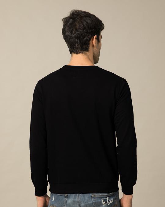 Shop Man Of Steel Emblem Fleece Light Sweatshirt (SL)-Back