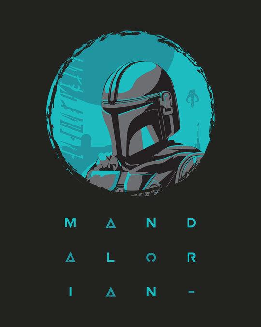 Shop Mandalorian Kin Full Sleeve T-Shirt Ice Black (SWL)-Design