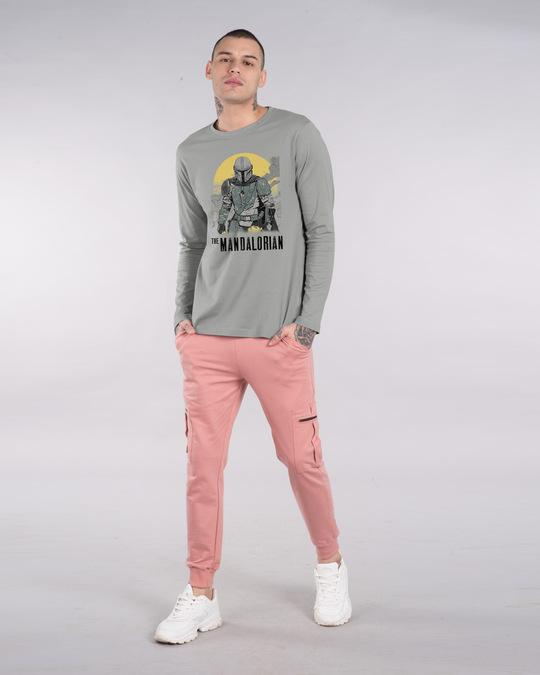 Shop Mandalorian Walking Full Sleeve T-Shirt (SWL)-Full