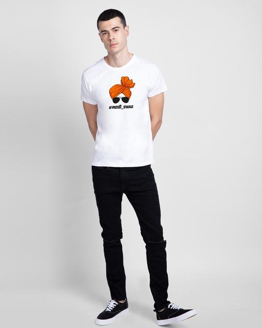 Shop Marathi Swag Half Sleeve T-Shirt-Design