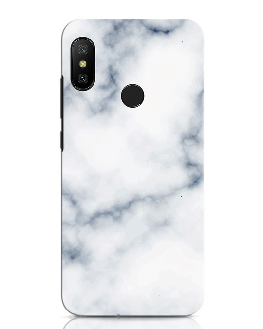 Shop Marble 2 Xiaomi Redmi Note 6 Pro Mobile Cover-Front