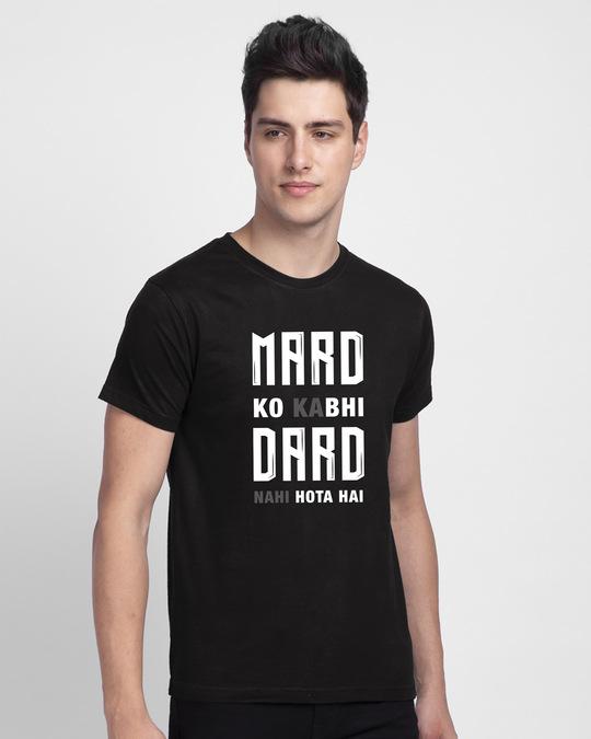 Shop Mard Ko Dard  Half Sleeve T-Shirt-Back