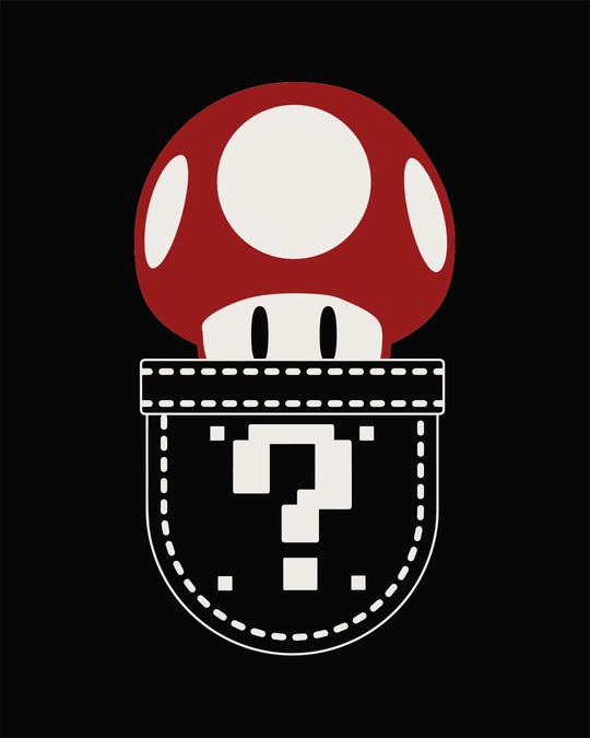 Shop Mario Pocket Half Sleeve T-Shirt