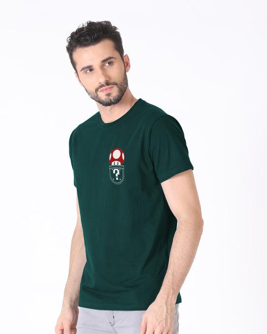 Shop Mario Pocket Half Sleeve T-Shirt-Design