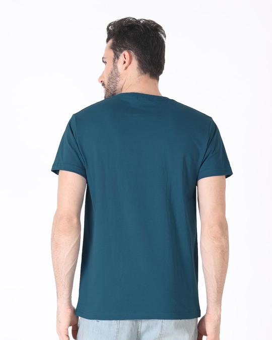 Shop Marley Rasta Half Sleeve T-Shirt-Full