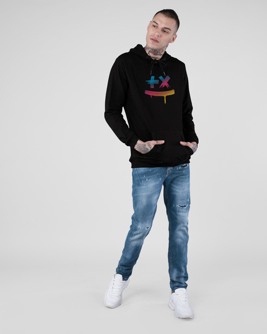 Shop Martin Garrix Colorful Fleece Hoodie-Full