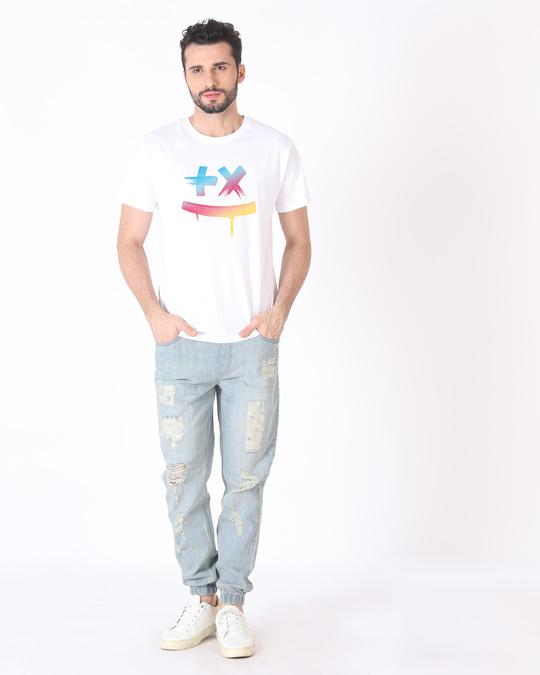 Shop Martin Garrix Colorful Half Sleeve T-Shirt