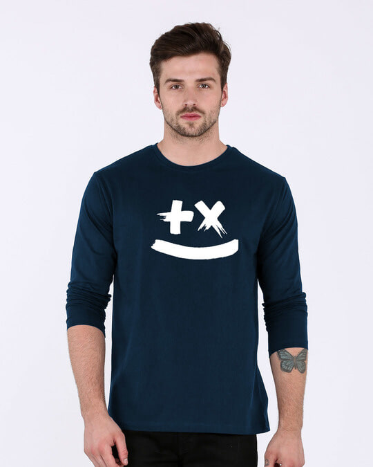 Shop Martin Garrix Full Sleeve T-Shirt (GID)-Front