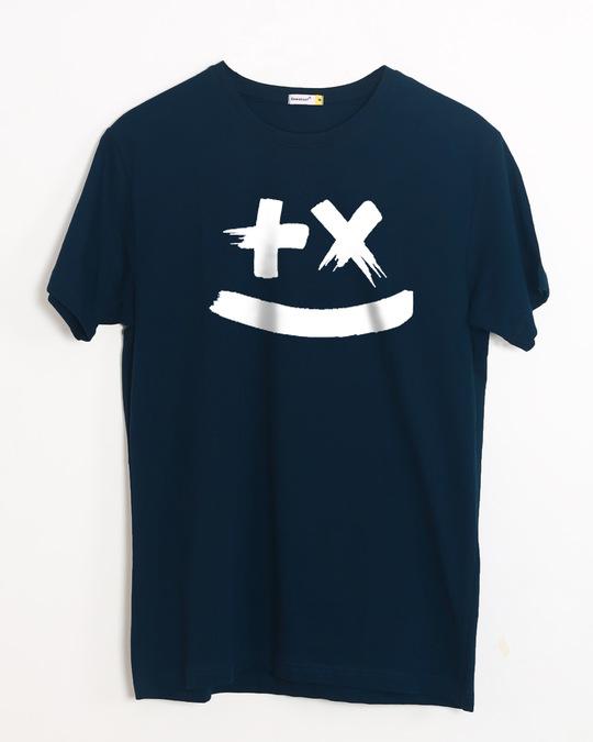 Shop Martin Garrix Half Sleeve T-Shirt (GID)-Front