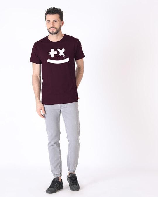 Shop Martin Garrix Half Sleeve T-Shirt (GID)