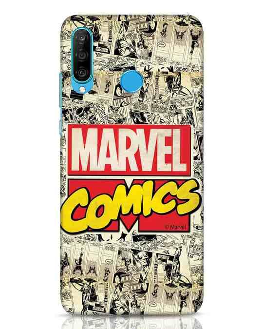 Shop Marvel Comics Huawei P30 Lite Mobile Cover (AVL)-Front