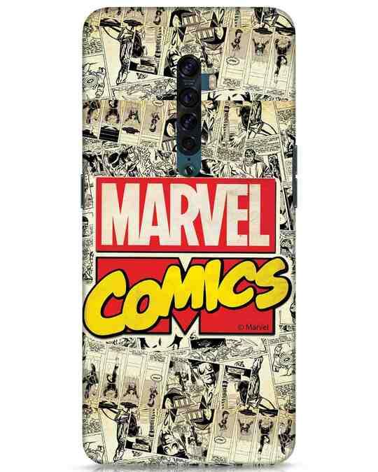 Shop Marvel Comics Oppo Reno 2 Mobile Cover (AVL)-Front
