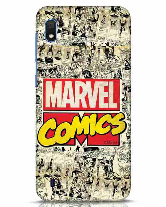 Shop Marvel Comics Samsung Galaxy A10 Mobile Cover (AVL)-Front