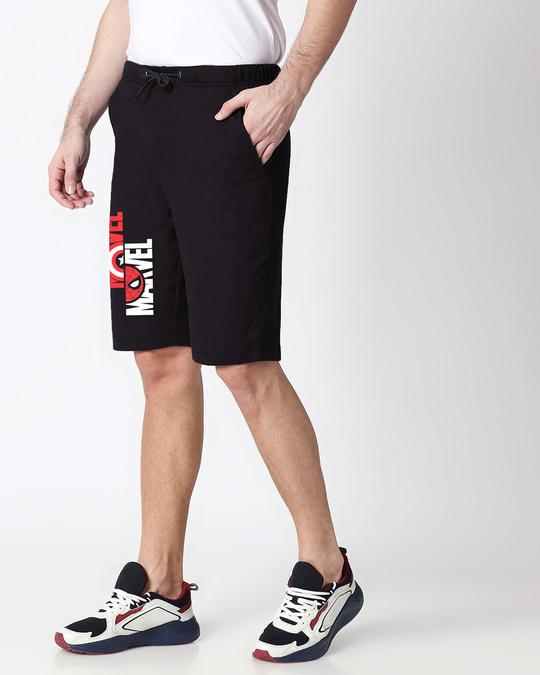 Shop Marvel Dual Casual Shorts (AVL)-Back