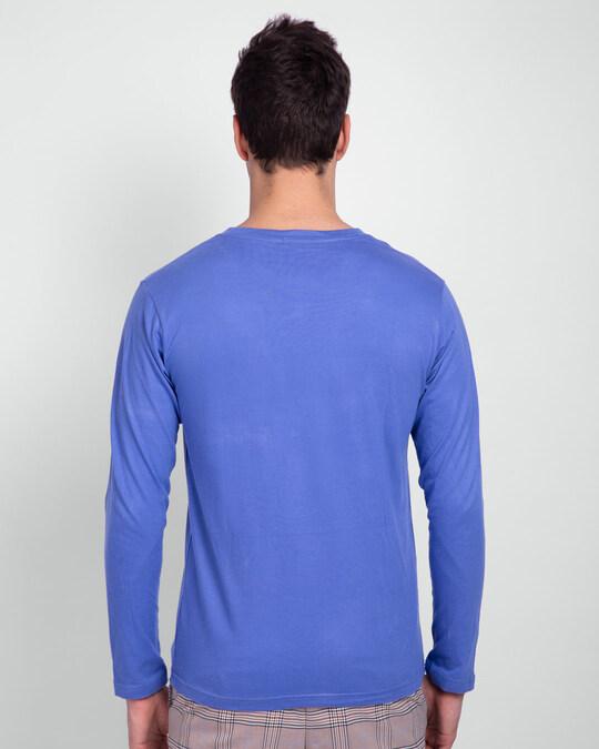 Shop Marvel Logo Ver 2 Full Sleeve T-Shirt (AVL)-Back