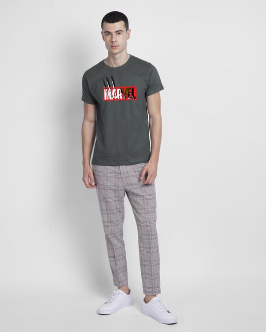 Shop Marvelrine Half Sleeve T-Shirt (XML)-Design