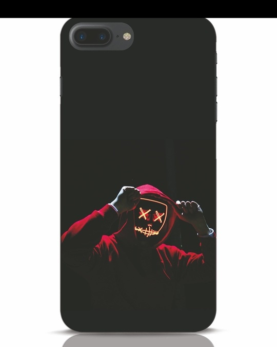 Shop Mask Man iPhone 7 Plus Mobile Cover-Front