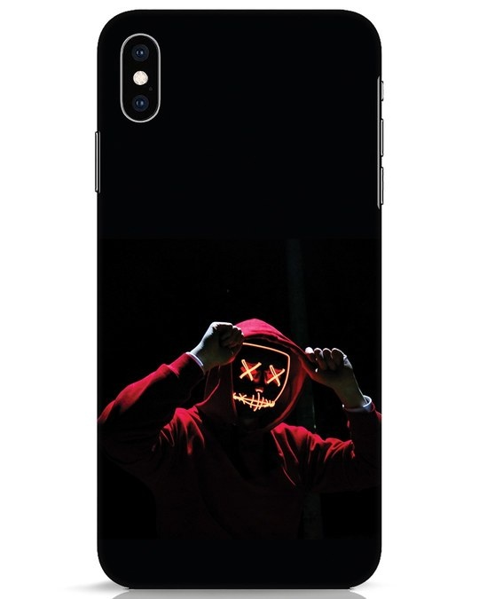 Shop Mask Man iPhone XS Max Mobile Cover-Front
