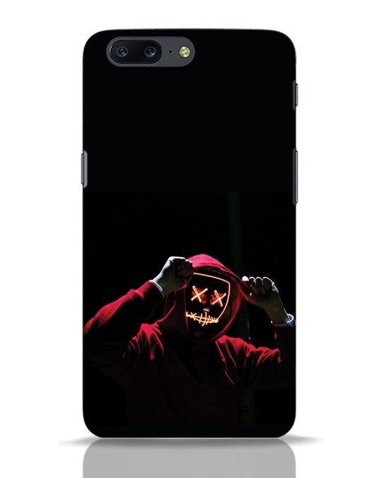 Shop Mask Man OnePlus 5 Mobile Cover-Front