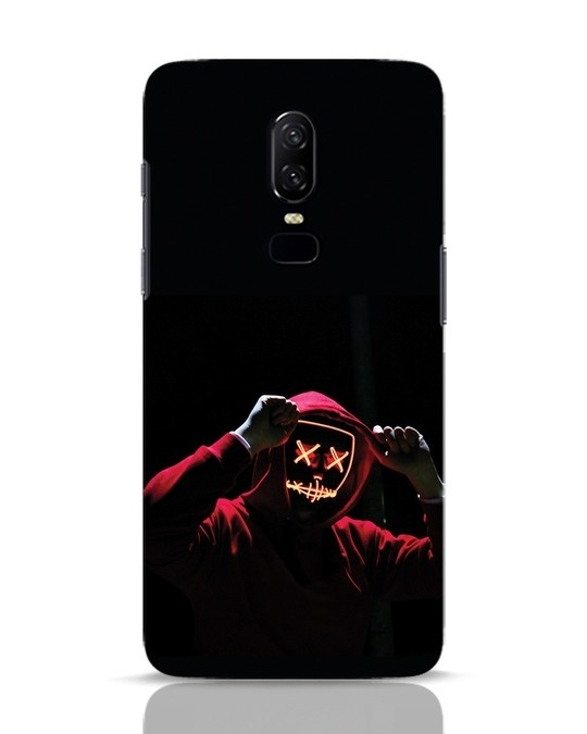 Shop Mask Man OnePlus 6 Mobile Cover-Front