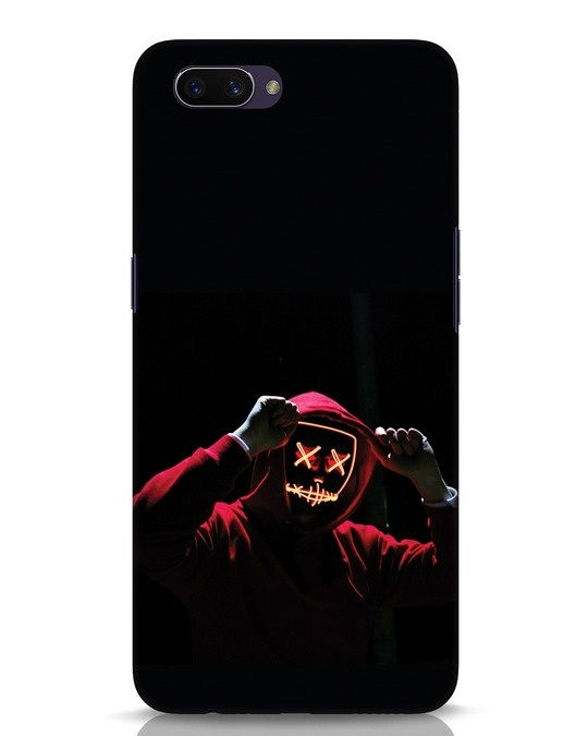 Shop Mask Man Oppo A3S Mobile Cover-Front