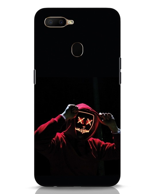 Shop Mask Man Oppo A5s Mobile Cover-Front