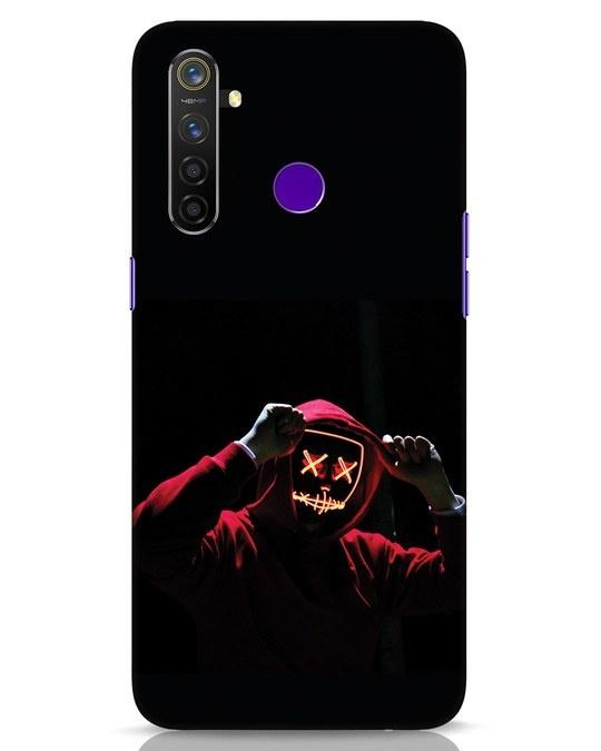 Shop Mask Man Realme 5 Pro Mobile Cover-Front