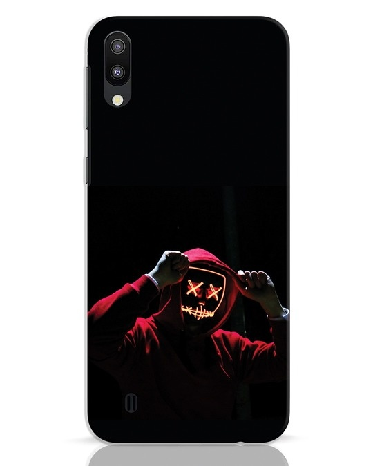 Shop Mask Man Samsung Galaxy M10 Mobile Cover-Front