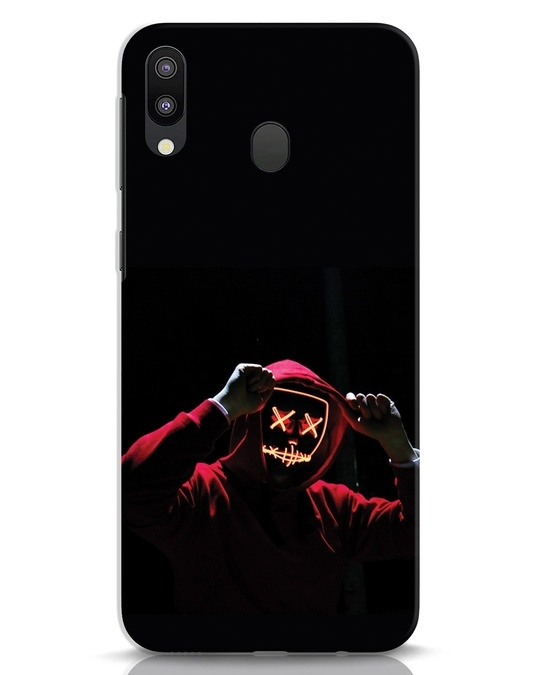 Shop Mask Man Samsung Galaxy M20 Mobile Cover-Front