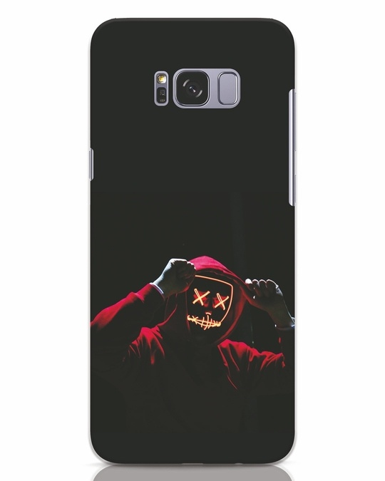 Shop Mask Man Samsung Galaxy S8 Plus Mobile Cover-Front