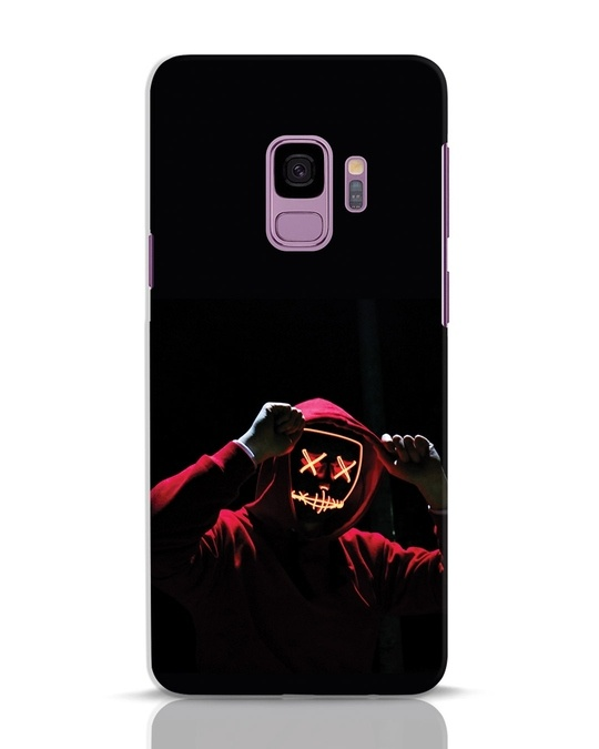 Shop Mask Man Samsung Galaxy S9 Mobile Cover-Front