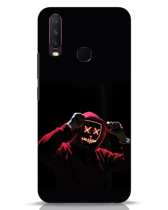 Shop Mask Man Vivo Y17 Mobile Cover-Front