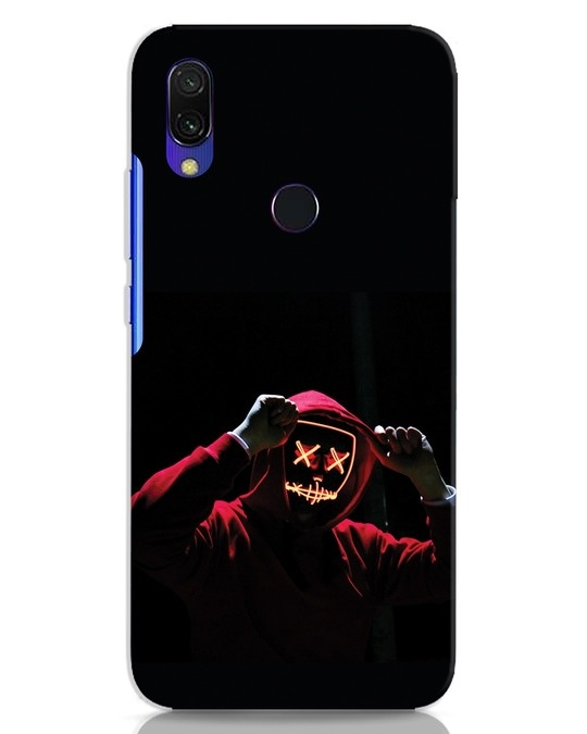 Shop Mask Man Xiaomi Redmi 7 Mobile Cover-Front