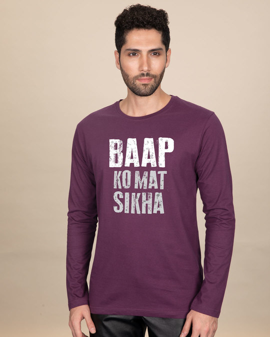 Shop Mat Sikha Full Sleeve T-Shirt-Front