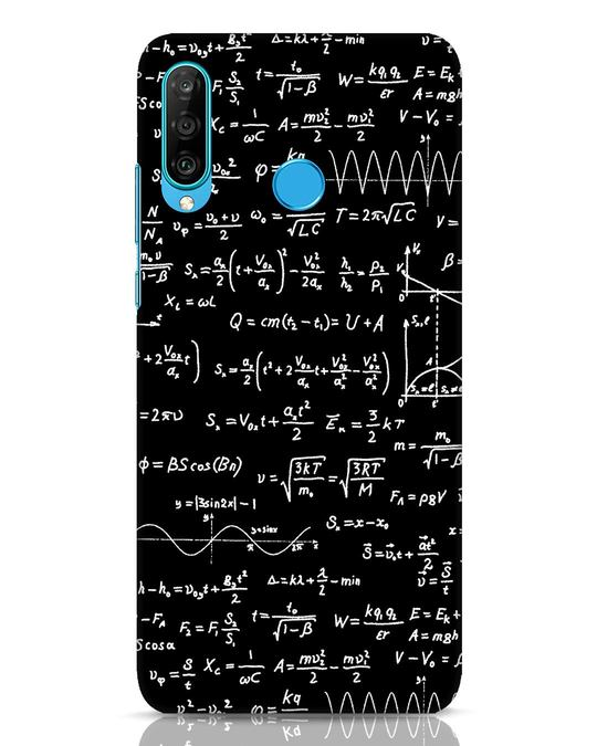 Shop Maths Huawei P30 Lite Mobile Cover-Front