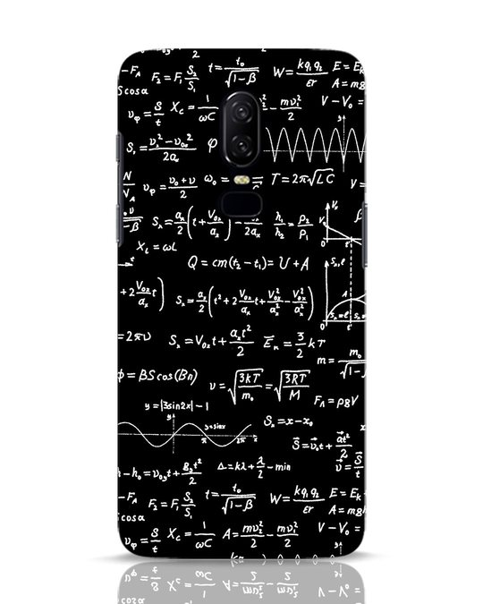 new style bc551 4e7d3 Maths OnePlus 6 Mobile Cover