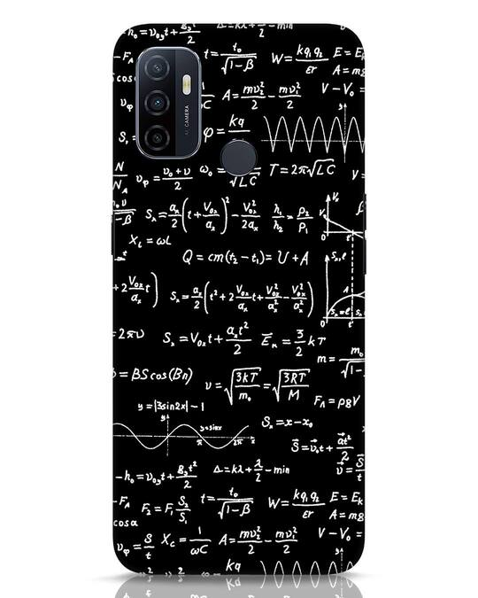 Shop Maths Oppo A53 Mobile Cover-Front