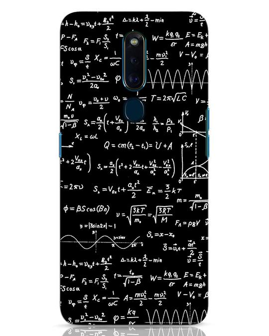 Shop Maths Oppo F11 Pro Mobile Cover-Front