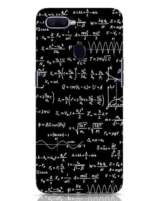 Shop Maths Oppo F9 Pro Mobile Cover-Front