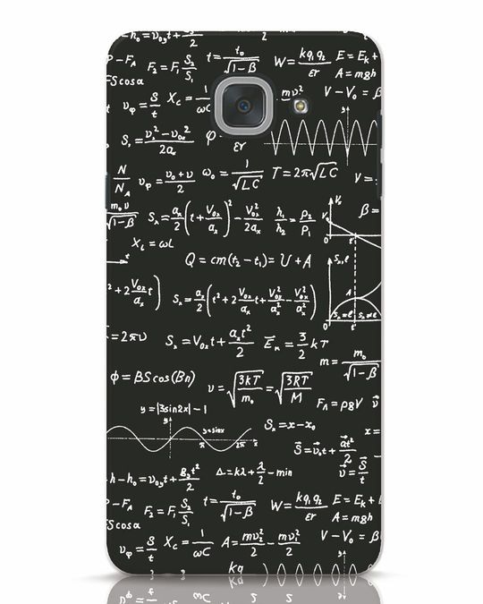 Shop Maths Samsung Galaxy J7 Max Mobile Cover-Front