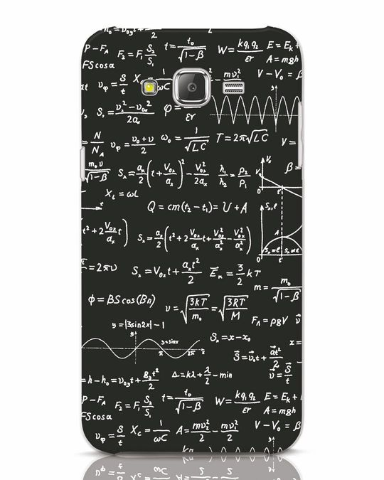 Shop Maths Samsung Galaxy J7 Mobile Cover-Front